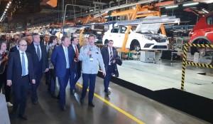 В этом году завод серьёзно нарастил присутствие на рынке - доля автомобилей Lada в России составляет 20%.