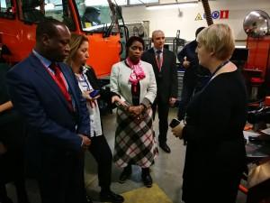 Состоялись рабочие встречи с руководством предприятий, на которых обсуждались перспективы сотрудничества.
