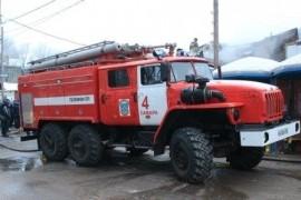 В Самаре утром тушили пожар на ул. Промышленности