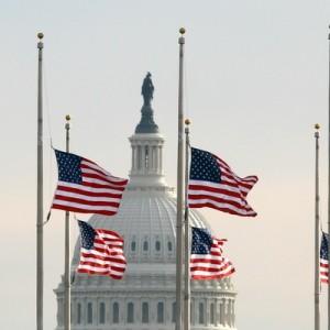 Церемония прощания с Бушем-старшим проходит на Капитолийском холме