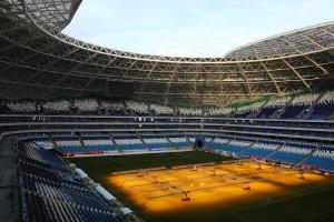 На стадионе «Самара Арена» готовятся к заключительному матчу в этом году