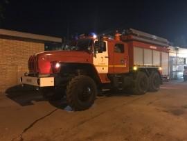 В Самаре ночью горела трансформаторная будка Пожар распространился на 15 кв. метров.