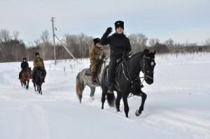 Задача фестиваля - повышение эффективности потенциала патриотического воспитания, заложенного в народных казачьих традициях.