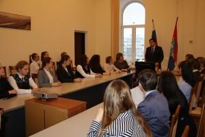 В ходе мероприятия состоялось живое обсуждение проблем педагогического образования, особенностей учительского труда и жизни современной школы.