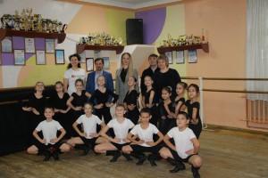 Руководителю департамента по работе с Приволжским и Уральскими Федеральными округами исполкома ОНФ показали открытые уроки коллективов ДК.
