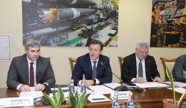 Участие в нем приняли представители Роскосмоса, руководство «РКЦ «Прогресс», члены правительства Самарской области, ректорат вуза и ученые.