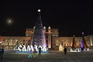 На площади имени В.В.Куйбышева в новогоднюю ночь самарцев ждет богатая программа