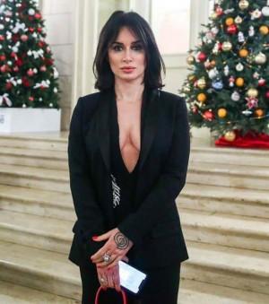Тина Канделаки на президентском приёме в Большом театре