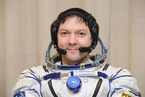 Новый год Олег Кононенко встретил на борту МКС.