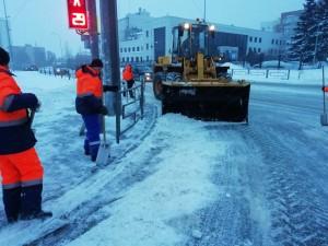 По информации ФГБУ «Приволжское УГМС» в ближайшие два дня ожидается сильный снег, на дорогах снежные заносы.