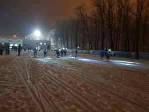 На старт вышли около 200 спортсменов.