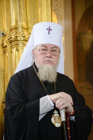 По мнению иерарха, представитель неканонической украинской церковной структуры является светским человеком.