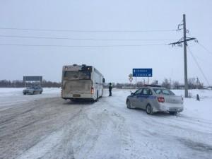 На автодороге Самара - Ульяновск провели профилактические мероприятие «Автобус»