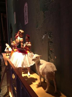 Самарская козочка Забияка из зоопарка выступила в балете