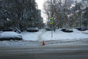 В Самаре в ДТП с четырьмя машинами пострадали двое Авария произошла в условиях снегопада.