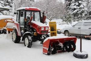 Для Самары закупят новый снегоуборочный трактор Технику будут использовать в Куйбышевском районе.