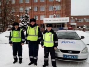 Сотрудники тольяттинской Госавтоинспекции помогли роженице оперативно добраться в роддом