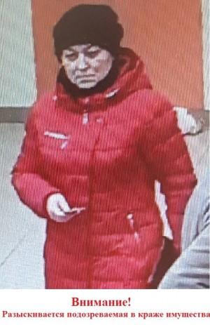 В Самарской области ищут похитительницу кошелька Полиция просит очевидцев обращаться.