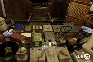 Среди ценностей — экспонаты из коллекции дворца Романовых в Ташкенте.