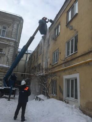 Состояние территорий внутригородских районов находится на контроле главы муниципалитета Елены Лапушкиной.