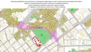Она будет расположена на пересечении Московского шоссе с улицей Авроры.