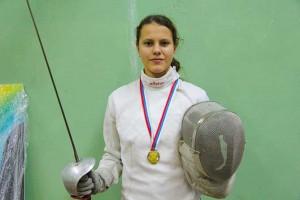 Тольяттинская саблистка стала третьей на первенстве России по фехтованию