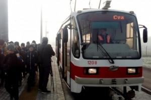 Перевозка горожан до стадиона будет осуществляться трамвайным маршрутом № 7.