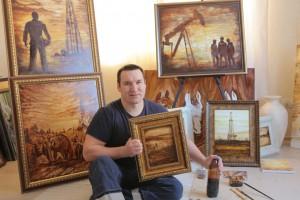 В Самарском политехе откроется выставка «нефтяных» картин