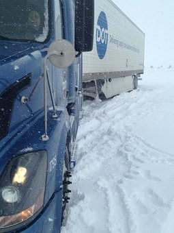 Открыто движение для грузового и пассажирского транспорта по участку трассы М-5 в Самарской области