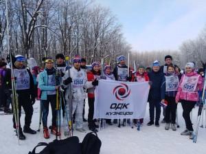 Команда самарского ПАО «Кузнецов» приняла участие во Всероссийской массовой лыжной гонке «Лыжня России»