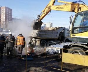В Самаре начата доследственная проверка по факту прорыва трубопровода, когда пострадали двое В настоящее время мужчины находятся в больнице.