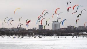 Кубок мира по сноукайтингу пройдет на Жигулевском море