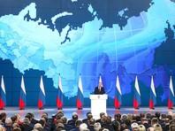 """Традиционно Путин начал с задач экономического развития страны, социальных проблем России и исполнения """"майских указов""""."""
