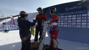 Следующий этап Кубка мира по сноуборду пройдет в испанской Ла-Молине 2 марта.