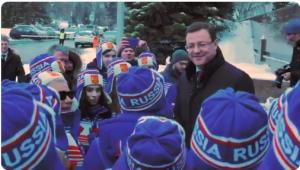 Дмитрий Азаров встретился со спортсменами Самарской области — участниками Зимней универсиады 2019