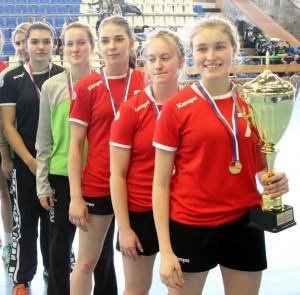 В Тольятти состоялся финальный этап первенства России по гандболу среди девушек до 18 лет.
