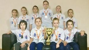 По результатам соревнований девочки 2005-2006 годов рождения из СШОР №11 завоевали бронзу, а в младшей группе 2007-2008 г.р. – серебро.