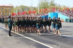 Военные ЦВО начали подготовку к Параду Победы в Самаре