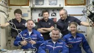 Экипаж Союза МС-12 встретили на МКС «Союз МС-12» доставил на станцию почти 127 кг различных грузов.