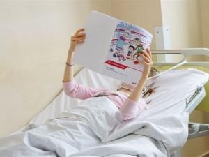 Железнодорожники провели для маленьких пациентов Самарской областной больницы урок безопасности