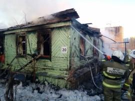 На ликвидацию пожара привлекались 41 чел. и 11 единиц техники.