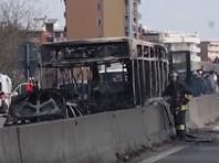В Италии выходец из Сенегала захватил и пытался сжечь школьный автобус вместе с детьми
