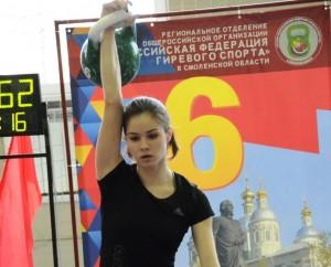 Жительница Жигулевска отличилась на первенстве России по гиревому спорту