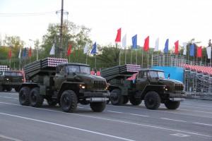На военном параде в Самаре впервые пройдут бронемашины БМП-2М