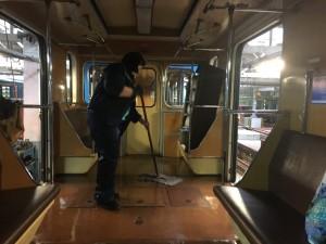 Преобразятся более 40 вагонов метро.