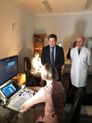 3 апреля министр здравоохранения Самарской области Михаил Ратманов посетил с рабочим визитом учреждения здравоохранения Тольятти.