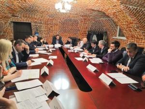 Сегодня состоялось очередное заседание рабочей группы по вопросу сохранения и дальнейшего использования «Фабрики-кухня завода им. Масленникова».