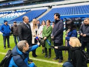Самару посещают представители Главного государственного управления по физической культуре и спорту КНР.