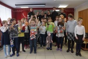Ребята из самарской школы-интерната №111 окунулись в волшебный мир театра.