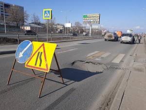 Реконструкцией магистрали занималась компания «Самаратрансстрой», поэтому именно данная компания и должна будет устранить появившийся дефект дорожного полотна.